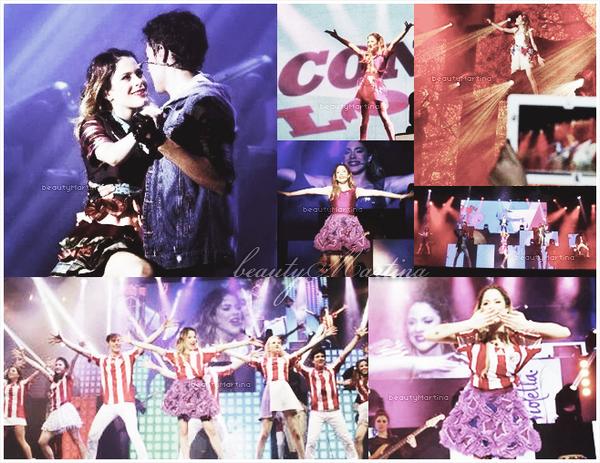 . La troupe de Violetta En Vivo au Paraguay ! .