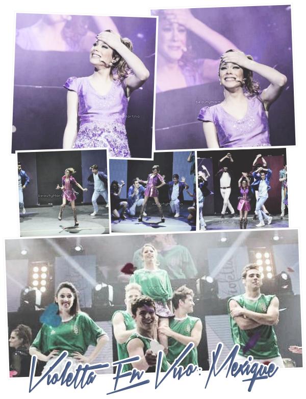 """. Découvrez les photos du show de """"Violetta En Vivo"""" au Mexique qui s'est déroulé le 09 novembre 2013. ."""