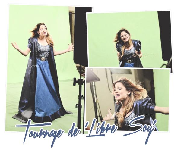 """. Découvrez des photos du tournage du clip de """"Libre Soy'"""" ! ."""