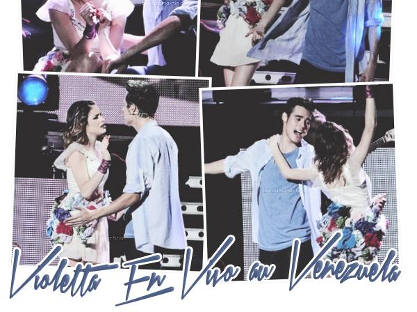 """. Voici les photos du show de """"Violetta En Vivo"""" au Venezuela.. ."""