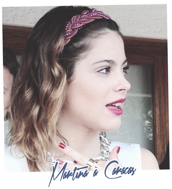 . Martina à Caracas. .