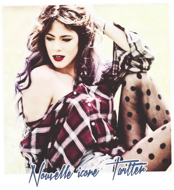 . Nouvelle icone de profil Twitter de Martina. .