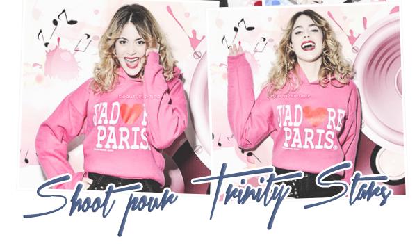. Découvrez le shoot de Martina pour le magazine français Trinity Stars. .
