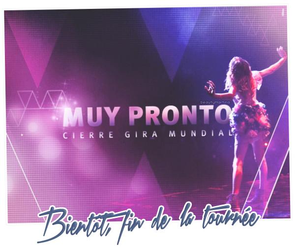 """. Bientôt, clap de fin pour la tournée """"Violetta En Vivo"""" ! ."""