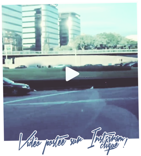 . Voici une vidéo postée par Martina sur Instagram. Clique sur l'image pour voir la vidéo ! .