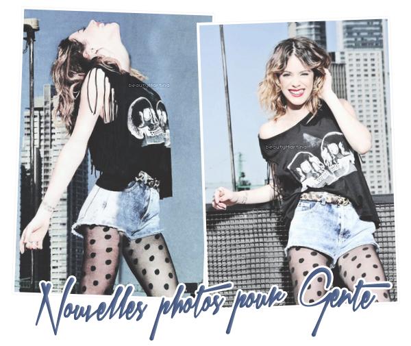 . Voici des nouvelles photos du shoot du magazine Gente. .