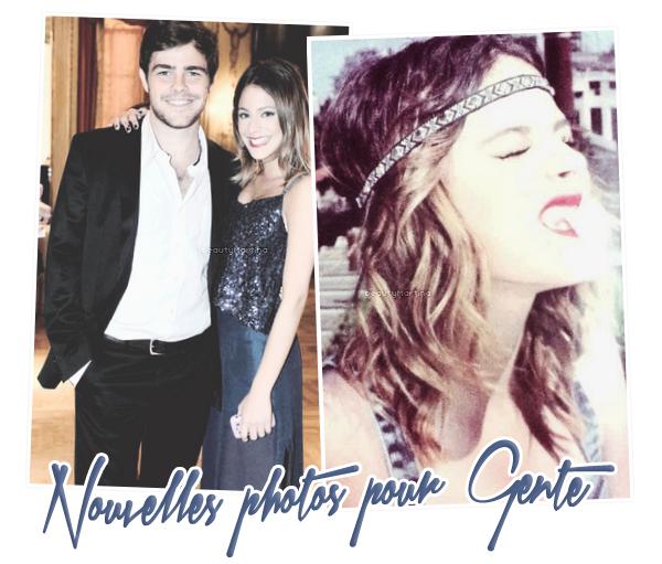 . De nouvelles photos du shoot pour le magazine Gente. .