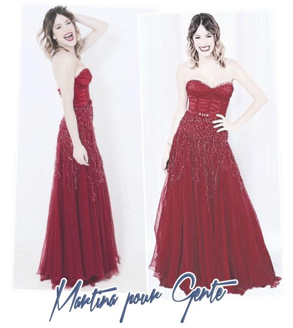 . Nouvelles photos de Martina dans l'édition spéciale du magazine Gente. .