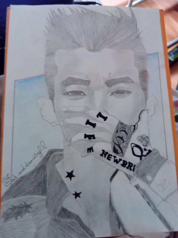 drawing jay park