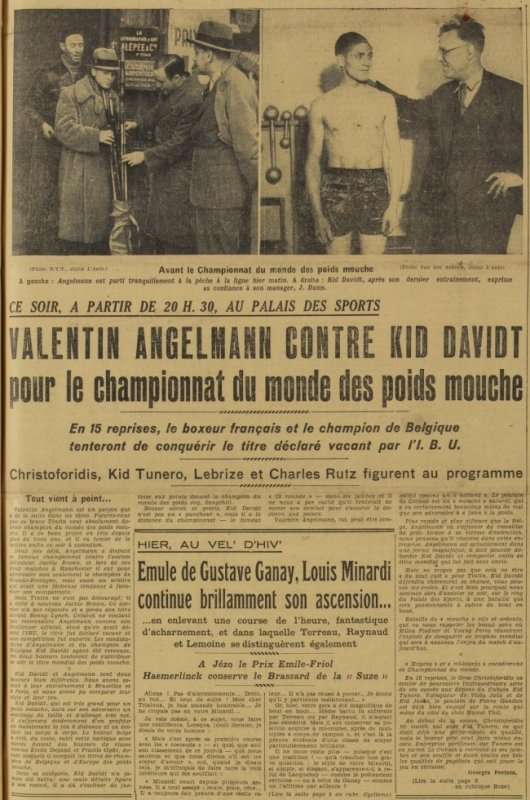 ARTICLE DU JOURNAL L'AUTO DU 06-01-1936