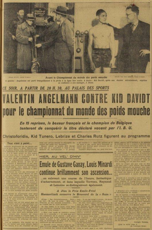 ARTICLE DU JOURNAL L'AUTO DU 06-01-1936