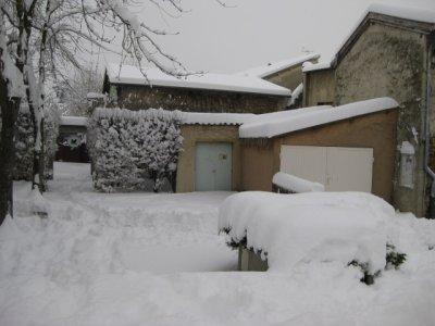 toujours de la neige!