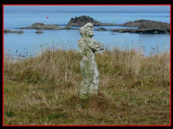 magnifique sculpture en granit  de François Breton