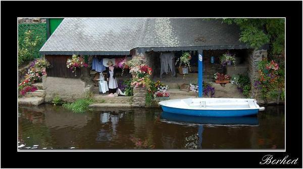 Autre photo de Pontrieux et ses magnifiques lavoirs à visiter en barque