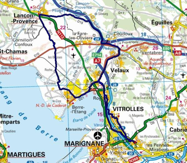 Sortie Route Du 06-07-11