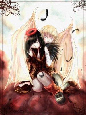 couple de ange et demon manga blog de ange demon 07. Black Bedroom Furniture Sets. Home Design Ideas