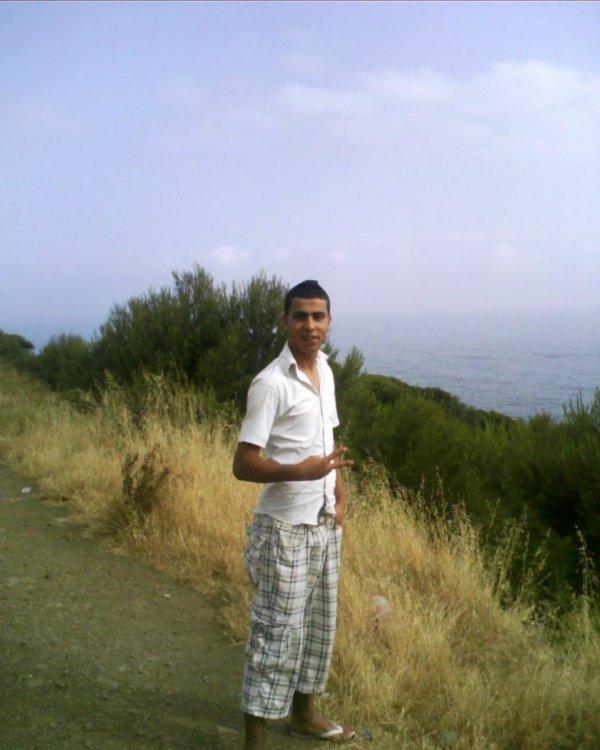 Je suis sur la route tipaza