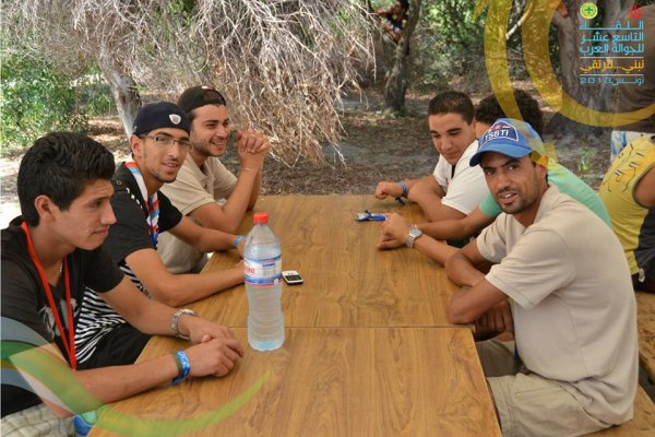 Avec membre Tunisien Radio- Amateur