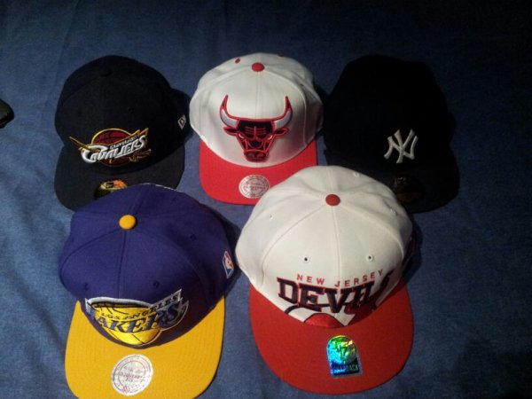 Mes casquette swwwagg !