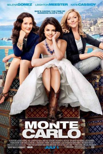 MONTE CARLO : SELENA GOMEZ / LEIGHTON MEESTER / KATIE CASSYDI 1 JUILLET