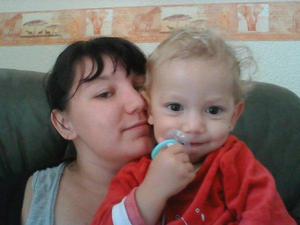 mon petit homme et moi <3