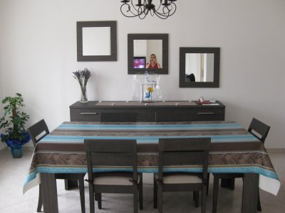 Miroir Pour Salle A Manger. Salle De Bain Blanche Et Bois Boulogne