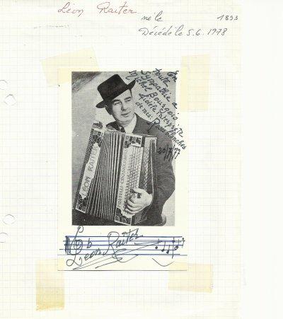autogrphes de chanteurs tous francophones  1 er page