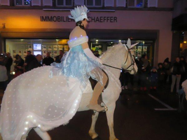 Parade magique de Noel à Sarrebourg