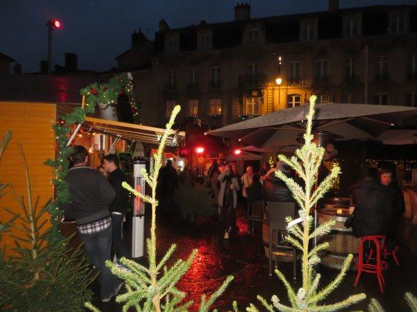 Marché de st nicolas à Nancy