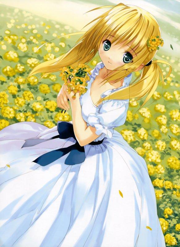 Fille en robe 3