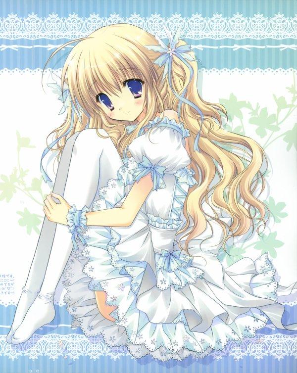 Fille en robe 8