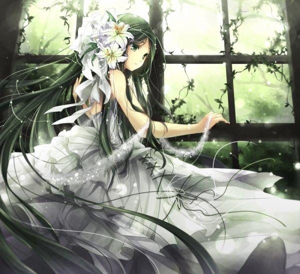Fille en robe 9