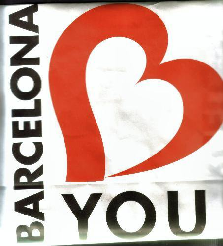 ilove you barcelona