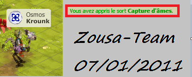 Enfin le sort Capture d'âmes !