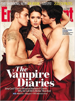 Photoshoot : Vampire Diaries pour Entertaiment Weekly