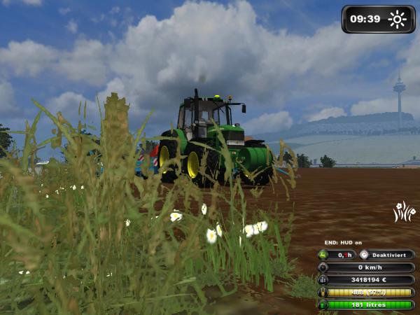 Semis de maïs 2012 -----> John Deere 6430 & semoir Monosem