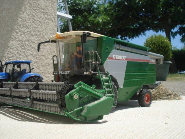 Moisson du blé 2012 ---> Fendt 8350 AL