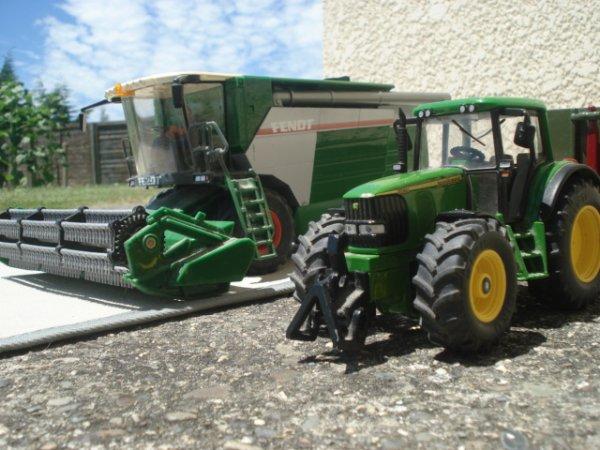 Moisson du Colza 2012 ---> Fendt 8350 AL