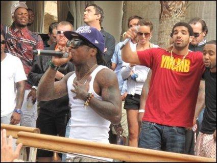 Petit concert Lil Wayne