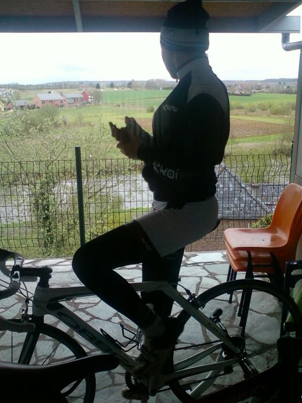 Mon Amour & moi à vélo ;D