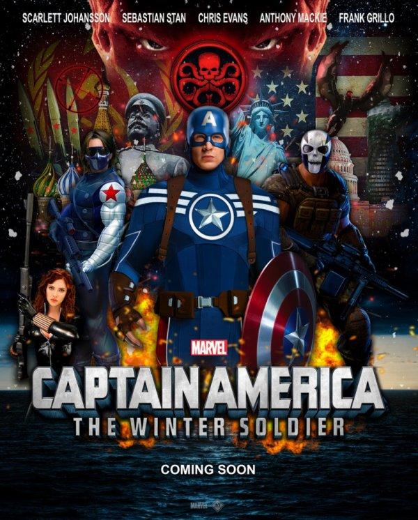 Captain America 2 : Le Soldat de l'Hiver est sorti aujourd'hui !