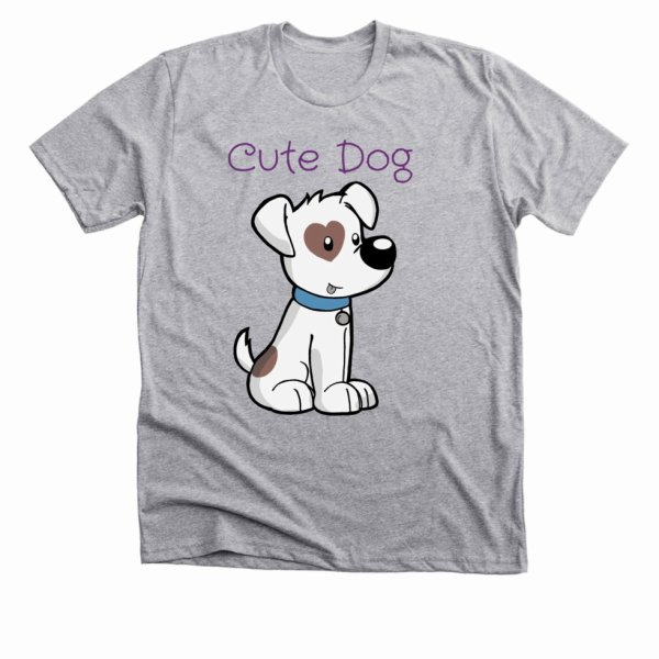 Cute Dog T-Shirt is live now