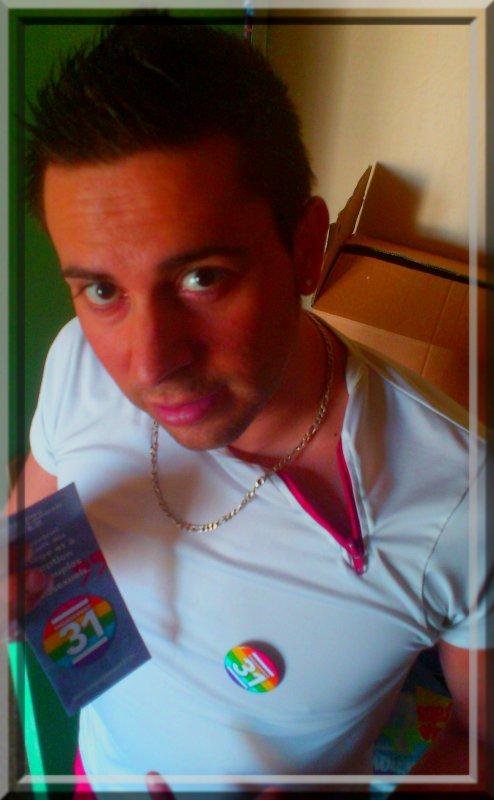 """Je porterai le Badge """"engagement 31"""" jusqu'au 6 mai à la Bastille !"""