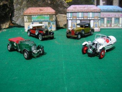 PACKARD - BENTLEY - AMILCAR - collection voitures miniatures
