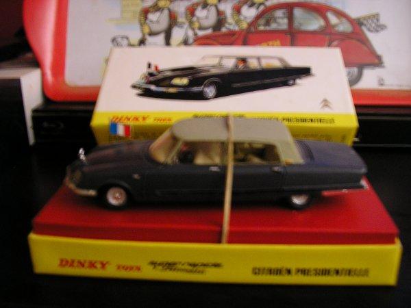 La Citroen DS Présidentielle Dinky Toys