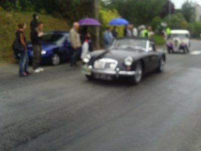 Les voitures du 31 ème tour de Bretagne