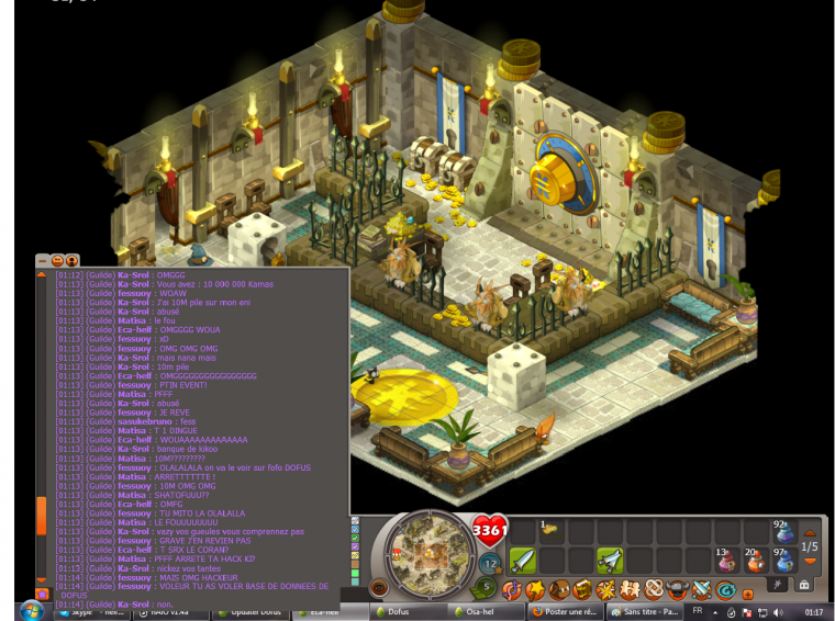 (Dofus) Screen en folie plz :o