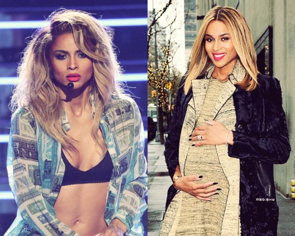 Ciara et enceinte