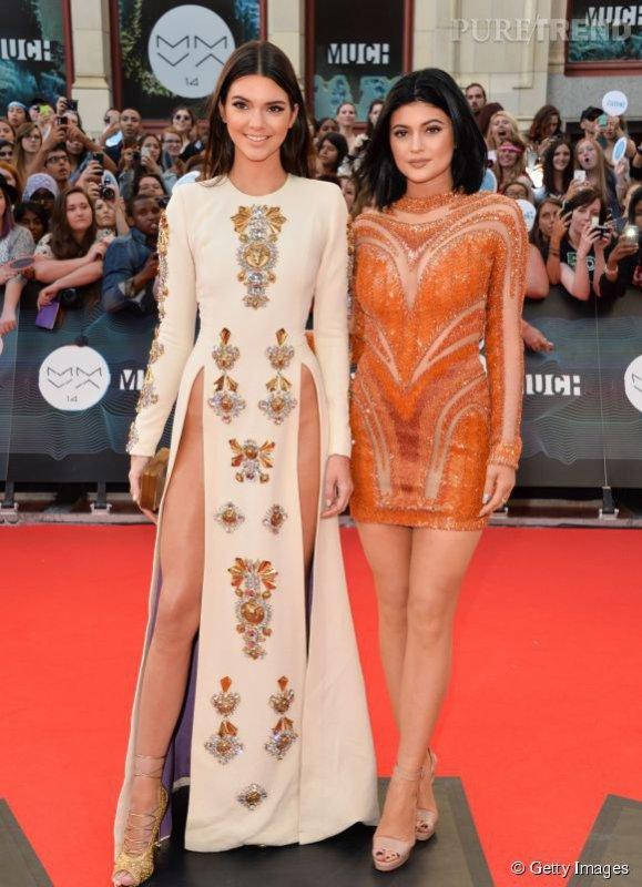 Kendall et Kylie Jenner les s½urs les plus déshabillées des MMVA 2014