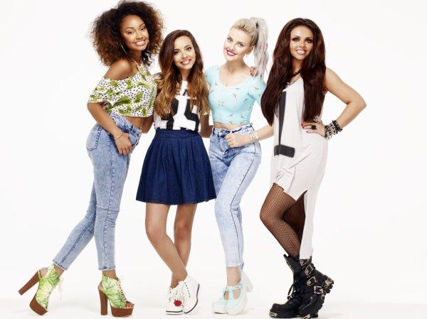 Le groupe gagnant sont : les Little Mix
